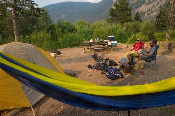 Rawah Wilderness Camping with Jen and Matt 10456