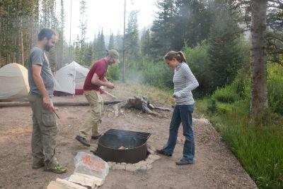 Rawah Wilderness Camping with Jen and Matt 10465