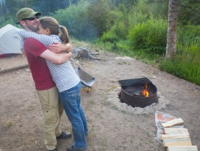 Rawah Wilderness Camping with Jen and Matt 10474